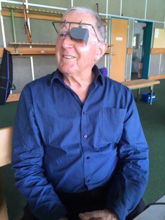 Theo Dober, 92-jährig